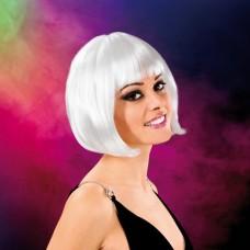 Cabaret Wig White Bob