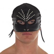 Leather Female Head Mask